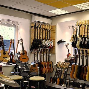 Музыкальные магазины Юрюзани